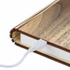 Gingko Design Smart Book Light Walnut Large 17 cm x 21,5 cm