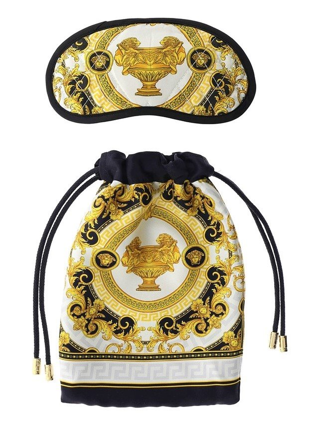 VERSACE Baroque Nightmask White