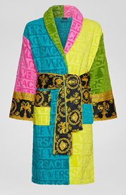 VERSACE I Love Baroque Bathrobe Multicolour