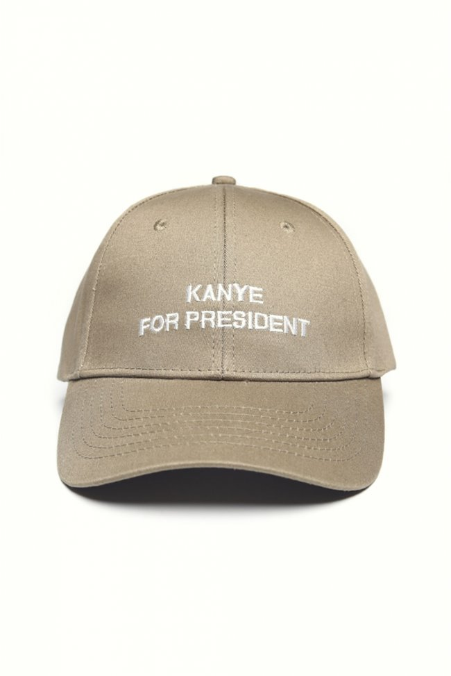 Sixth June Kanye For President Baseball Cap