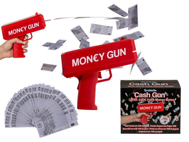 Cash Money Gun Red