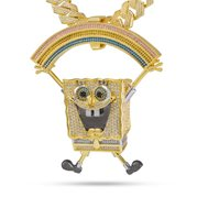 King Ice 14k Gold Plated SpongeBob The XXL Imagination Necklace NKX14141-XXL