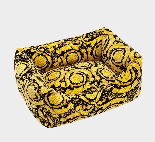 VERSACE Baroque Dog Bed 60x60 cm