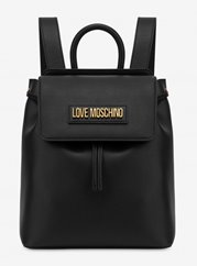 Love Moschino Backpack Smooth Black