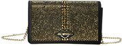 Love Moschino Flap Bag Crystals Black/Gold