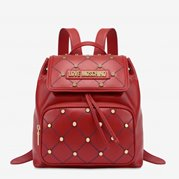 Love Moschino Backpack Quilted Red