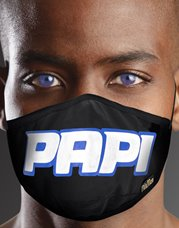 Nil & Mon Papi Face Mask Black