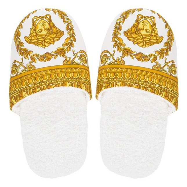 VERSACE I Love Baroque Slippers White