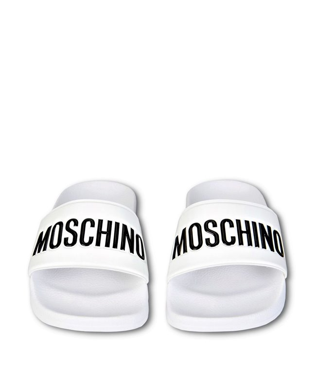 2a51829ca Drakesboutique - MOSCHINO Slippers White