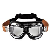Poshead Goggles Brown Leather