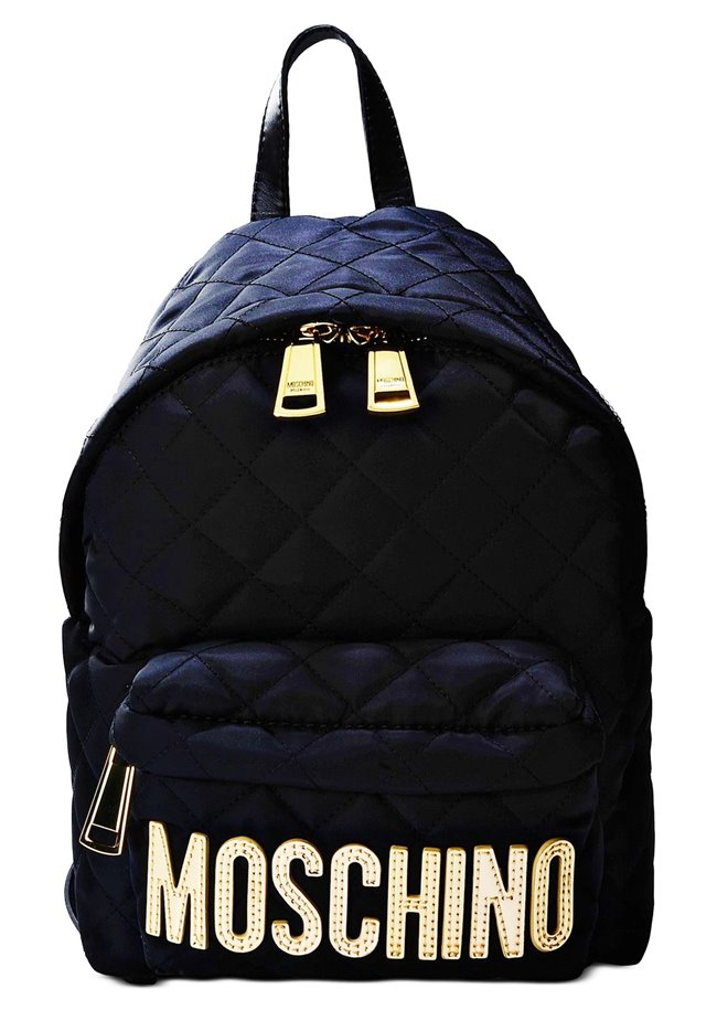 MOSCHINO Fabric Quilted Backpack B7608 8201 2555