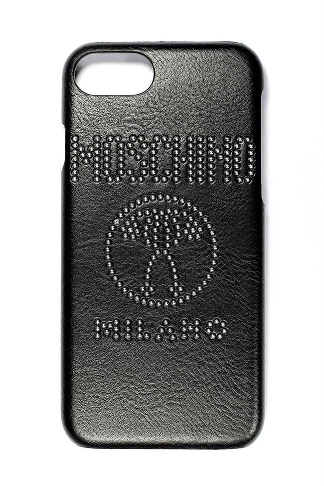 MOSCHINO Silver Studs Iphone 7/8/7+/8+ Case