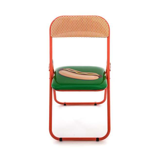 Seletti Folding Chair Hotdog