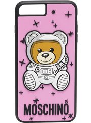 MOSCHINO Space Bear Iphone Case Pink