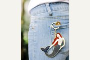DOIY Oversized Mermaid Keychain