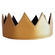 Eye Hunee Crown Gold Leather