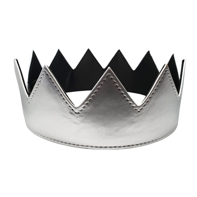 Eye Hunee Crown Silver Leather