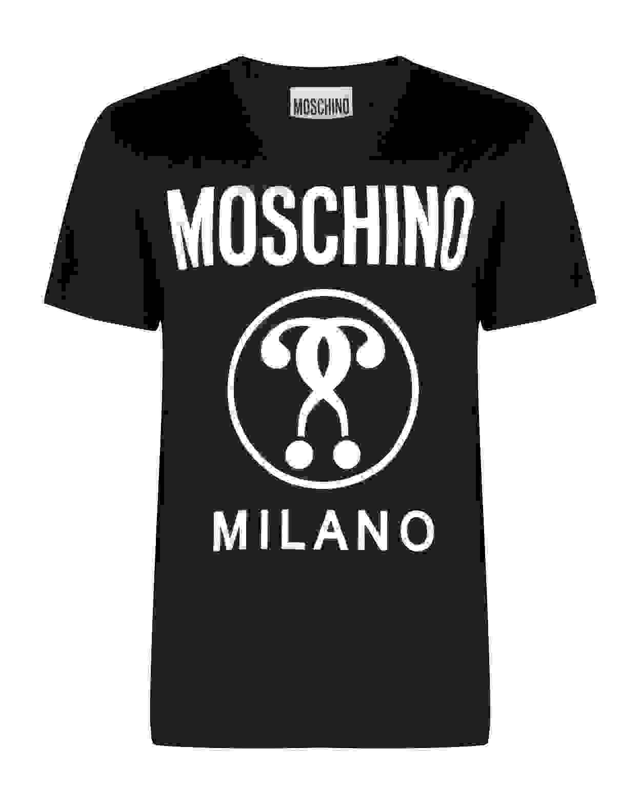 Moschino T-Shirt Milano Bianca