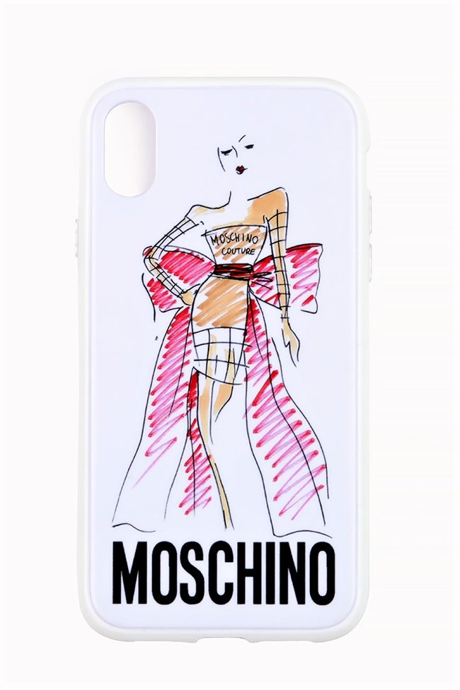 MOSCHINO iPhone Case Sketch Model