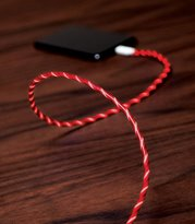 Pac Lightning Iphone Charging Cable Red