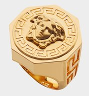 VERSACE Ring Greca and Medusa