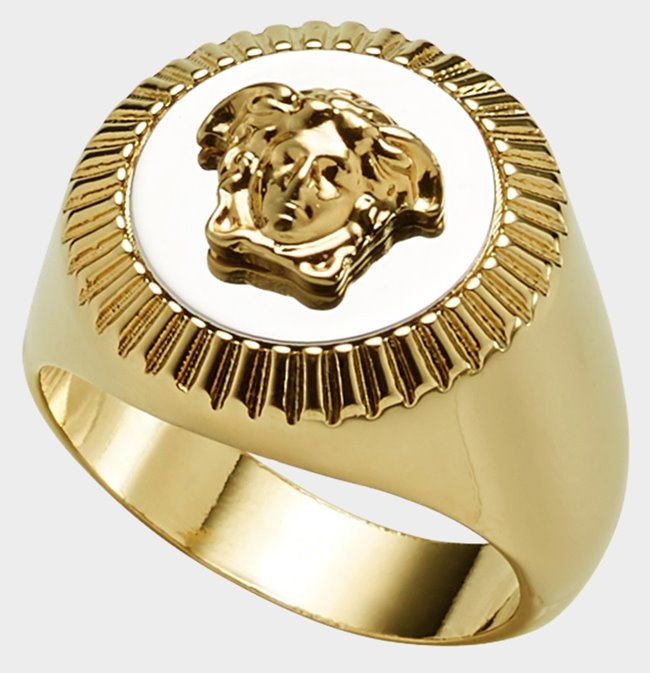 VERSACE Ring Medusa Metallic
