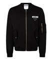 MOSCHINO Jacket Logo Couture Black