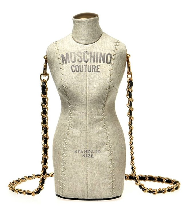 MOSCHINO Shoulder Bag Mannequin Doll