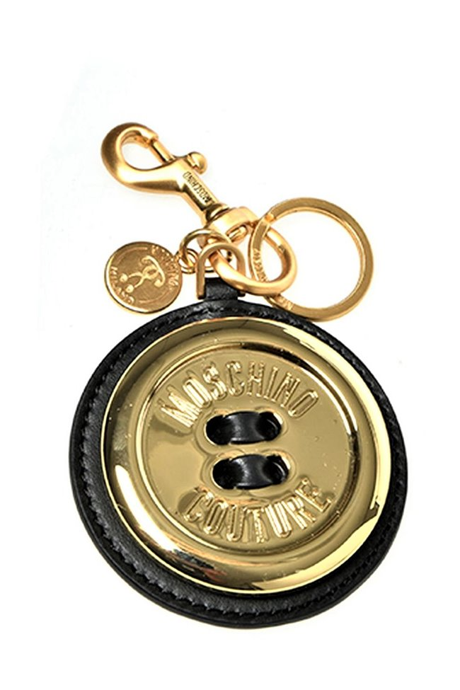 MOSCHINO Key Chain Giant Button