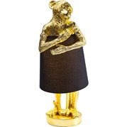 KARE Design 61961 Monkey Lamp Gold Black