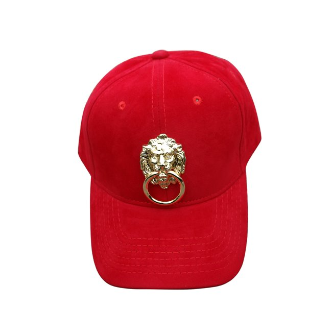 Eye Hunee Velour Lion Cap Red
