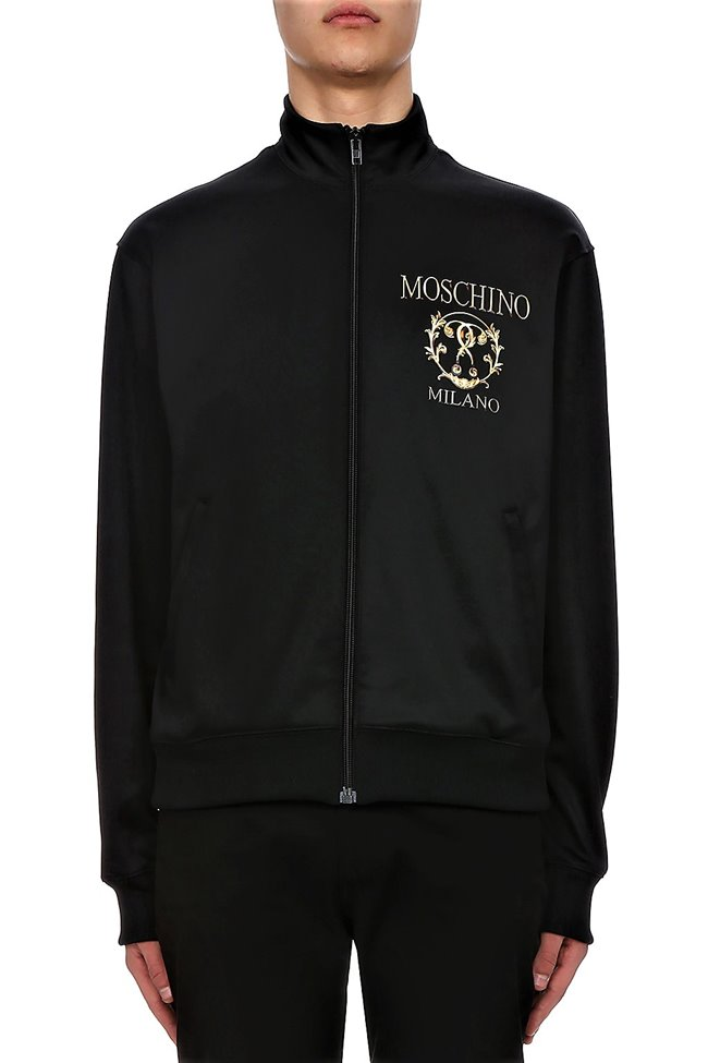 MOSCHINO Milano Roman Jacket Black