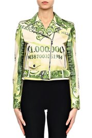 MOSCHINO Leather Jacket Million Dollar