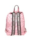 Moschino Fabric Quilted Bear Pink Backpack